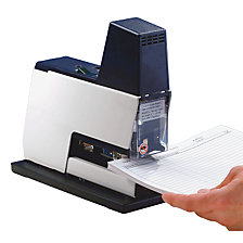 Electric desk stapler