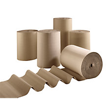 Corrugated cardboard roll