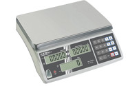 Compact scale with counting function, digit height 18 mm