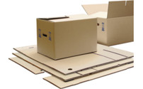 Cardboard box for moving, FEFCO 0201