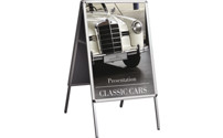 INDOOR folding advertising stand
