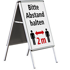 OUTDOOR folding advertising stand