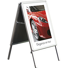 WEATHERPROOF folding advertising stand