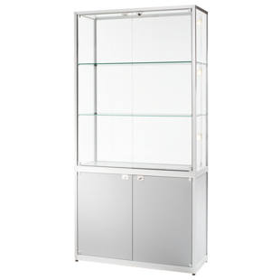 Cabinet with storage compartment