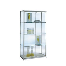 Free standing glass cabinet