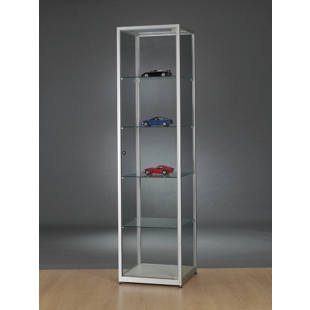 Glass cabinet, height 1984 mm, without lighting