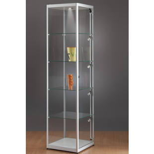 Glass cabinet, height 2000 mm