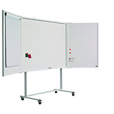 Folding whiteboard, complete set