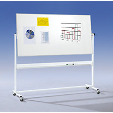 Mobile rotating board, double sided