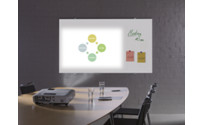 Glass projection board