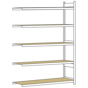 weitspannregal mit spanplatte h he 3000 mm m1150351. Black Bedroom Furniture Sets. Home Design Ideas