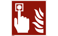 Fire protection sign