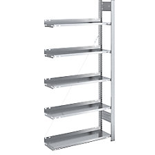 extension shelf unit, WxD 750 x 300 mm