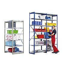 standard shelf unit, blue