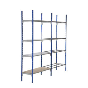 Multi-purpose boltless shelving unit