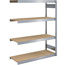 extension shelf unit, width 1285 mm, zinc plated