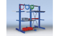 Cantilever racking upright, medium duty