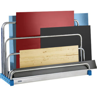 Sheet rack, 5 compartments
