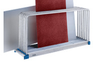 Sheet rack, zinc plated