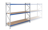 Widespan shelving unit