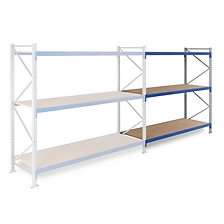 extension shelf unit, 3 shelf levels, depth 600 mm