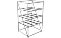 Aluminium profile EASY FLOW shelf unit