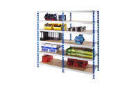 Universal boltless shelving unit, robust