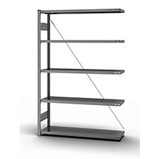 extension shelf unit, WxD 1300 x 400 mm