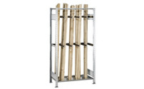 Long goods shelf unit