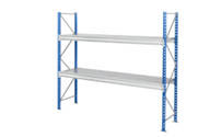 Heavy duty wide span shelving