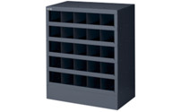 Small parts shelf unit