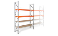 Hybrid shelf unit
