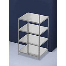 depth 800 mm, standard shelf unit
