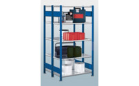 Boltless shelving unit, double row