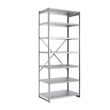 extension shelf unit, zinc plated