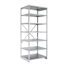 standard shelf unit, zinc plated