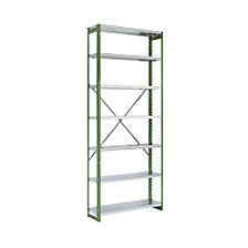 extension shelf unit, blue