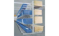 Cantilever racking unit, extra heavy duty