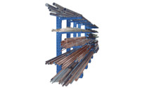 Cantilever racking unit, heavy duty