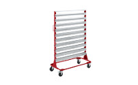 Mobile rack, height 1588 mm