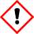 Classe de produits dangereux GHS07 – attention, substances irritantes