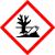 Vhodné pro látky ohrožující životní prostředí. Působení látek: mohou pozměnit vodu, půdu, vzduch, klima, rostliny nebo mikroorganismy do té míry, že je tím ohroženo životní prostředí.