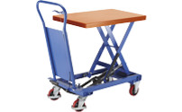 Standard lifting platform trolley