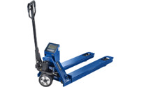 Pallet truck with weighing scale, weight 110 kg