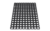 Rubber ring mat
