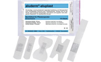 Refill set for ALUDERM®-ALUPLAST plaster dispenser