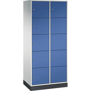 INTRO steel compartment locker, compartment height 345 mm