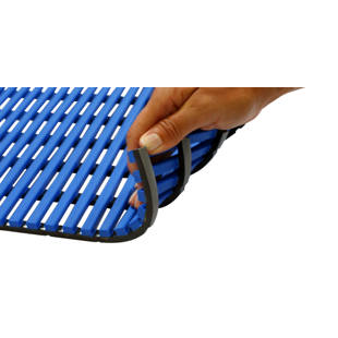 Wet room mat, anti-bacterial