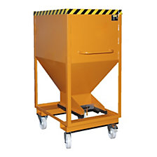 Dispensing hopper, commercial grade steel