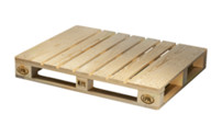 EUR2 pallet with deck on bottom, pack of 10